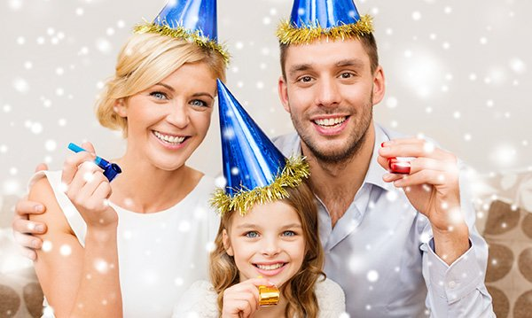 Great Ideas For A Family New Year's Party - Off The Couch
