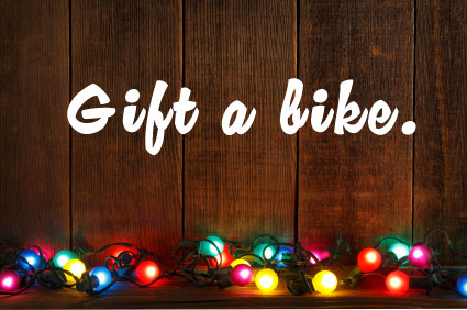 Christmas Bike Gifts - Off The Couch